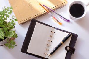 ノート、手帳
